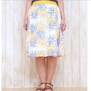 チチカカ(titicaca)のチチカカ パームツリースカート(ひざ丈スカート)