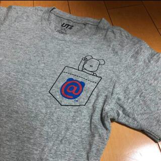 メディコムトイ(MEDICOM TOY)のMEDICOM×UTコラボグレーT(Tシャツ/カットソー(半袖/袖なし))