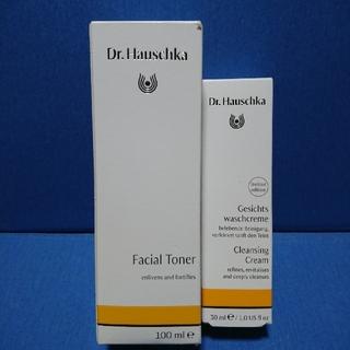 ドクターハウシュカ(Dr.Hauschka)のDr.ハウシュカフェイシャルトナー化粧水&Dr.ハウシュカクレンズクリーム洗顔料(化粧水/ローション)
