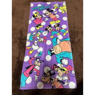 ミッキーマウス(ミッキーマウス)のフェイスタオル ミッキーフレンズ2枚(タオル/バス用品)