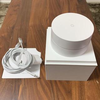 グーグル(Google)のGoogle Wifi ルーター(PC周辺機器)