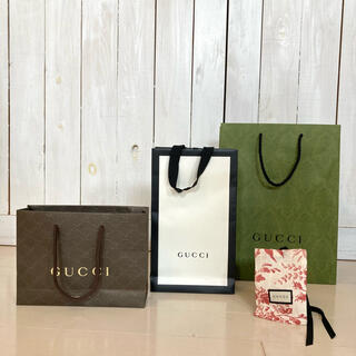 Gucci - Gucci グッチ 紙袋&布袋 セット ショッパー