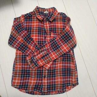 ブリーズ(BREEZE)の子供服 男の子 女の子 チェックネルシャツ 120(ブラウス)