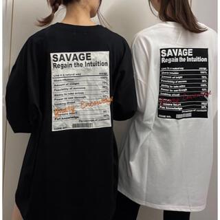 イング(INGNI)の☆  INGNI   ☆ back貼付ロゴロングTシャツ (Tシャツ(長袖/七分))