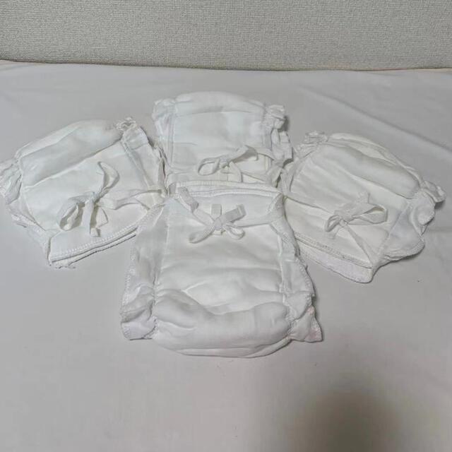 布おむつ 4枚 セット お尻かぶれ 対策 オムツパッド 繰り返し洗える 経済的  キッズ/ベビー/マタニティのおむつ/トイレ用品(布おむつ)の商品写真