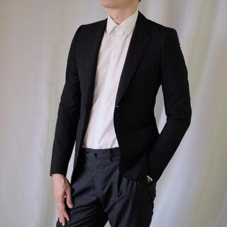 Balenciaga - 極美品バレンシアガ 黒ジャケット 44 ハンガー付