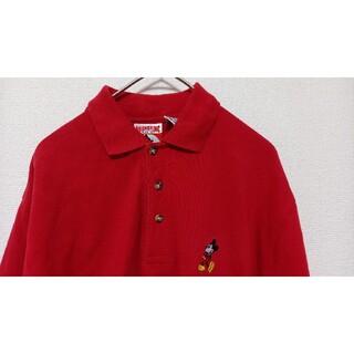 ディズニー(Disney)のミッキー ヴィンテージ  ポロシャツ メンズ サイズS(ポロシャツ)