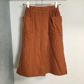 クリスチャンディオール(Christian Dior)のChristian Dior クリスチャンディオール 巻きスカート スカート(ひざ丈スカート)