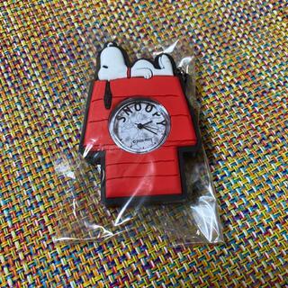 スヌーピー キーホルダー 時計