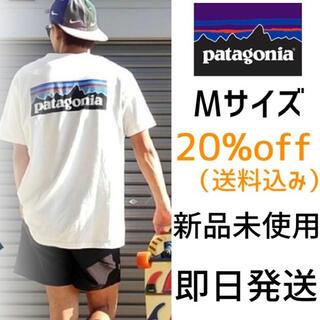 パタゴニア(patagonia)の【毎年売り切れMサイズ】Patagonia ポケット 6-P ロゴ Tシャツ(Tシャツ/カットソー(半袖/袖なし))