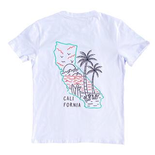 スタンダードカリフォルニア(STANDARD CALIFORNIA)の夏コーデ☆LUSSO SURF サーフドッグ ポケットTシャツ M RVCA(Tシャツ/カットソー(半袖/袖なし))