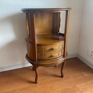 アクタス(ACTUS)のかなり美品 イタリア家具 アンティーク コンソール 猫脚 サイドテーブル 電話台(コーヒーテーブル/サイドテーブル)