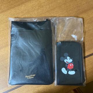 ドゥーズィエムクラス(DEUXIEME CLASSE)のドゥーズィエムクラススマホポシェット、ミッキーマウススマート財布(その他)