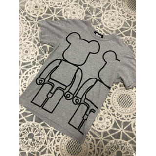 ブラックコムデギャルソン(BLACK COMME des GARCONS)のブラック コムデギャルソン ベアブリック  コラボTシャツ サイズS(Tシャツ/カットソー(半袖/袖なし))