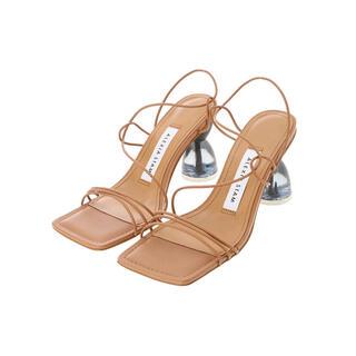 アリシアスタン(ALEXIA STAM)のアリシアスタン Cord Strap Sandals Camel(サンダル)