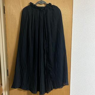エモダ(EMODA)のEMODA ロングスカート 黒 s(ロングスカート)