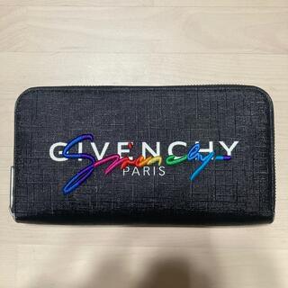 ジバンシィ(GIVENCHY)のGIVENCHY ジバンシィ ラウンドファスナー 長財布 レインボー刺繍(長財布)