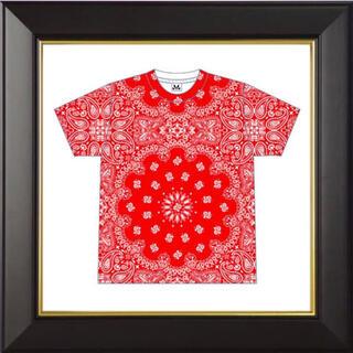 シュプリーム(Supreme)のMAJOGARY bandanna tee 【M】(Tシャツ/カットソー(半袖/袖なし))
