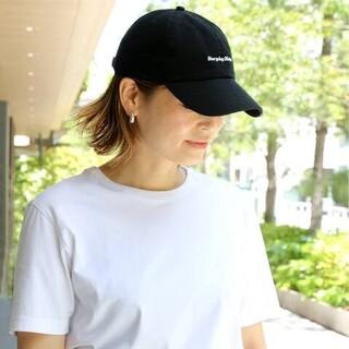 ドゥーズィエムクラス(DEUXIEME CLASSE)のドゥーズィエムクラス 【SKIN/スキン】 CAP 新品 キャップ帽子 ブラック(キャップ)