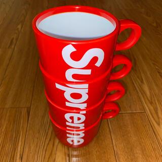 シュプリーム(Supreme)のSupreme 18ss Stacking Cups(グラス/カップ)