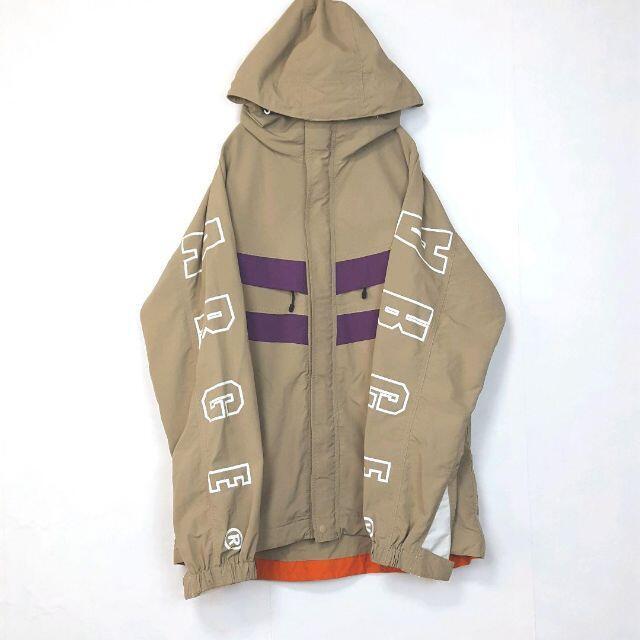 XLARGE(エクストララージ)の【マウンパ】X-LARGE ナイロンジャケット 古着 でかろご バックプリント メンズのジャケット/アウター(ナイロンジャケット)の商品写真