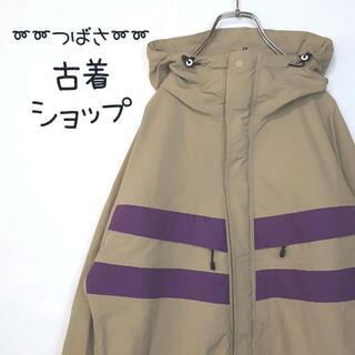 【マウンパ】X-LARGE ナイロンジャケット 古着 でかろご バックプリント
