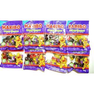 ハリボー ハッピーグレープ 80g×8袋(菓子/デザート)