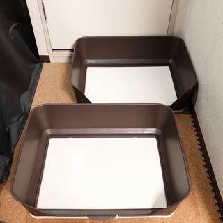 リッチェル(Richell)のリッチェル しつけ用ステップ壁付きトイレ ペットトイレ トイレトレー 犬用トイレ(犬)