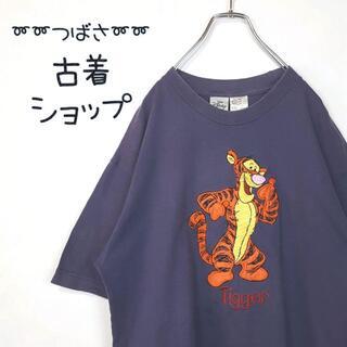ディズニー(Disney)の【全面刺繍⭐︎】ティガー Disney 古着 Tシャツ 激カワ ゆるだぼ 90s(Tシャツ/カットソー(半袖/袖なし))
