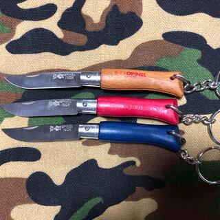 オピネル(OPINEL)の3個セット オピネル NO4ステンレスナイフ(調理器具)