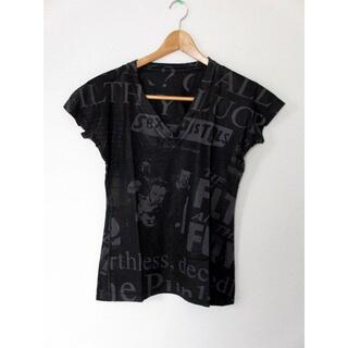 エーアンドジー(A&G)のA&G エーアンドジー スパンデックスTシャツ Lサイズ Vネック(Tシャツ(半袖/袖なし))