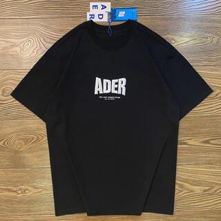 2020fw adererror アーダーエラーTシャツ A2ブラック(Tシャツ/カットソー(半袖/袖なし))