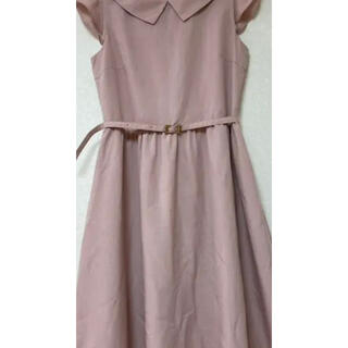 クチュールブローチ(Couture Brooch)の襟付きワンピース(ひざ丈ワンピース)