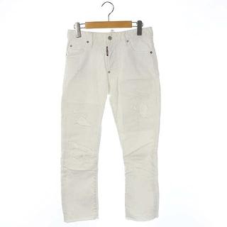 ディースクエアード(DSQUARED2)のディースクエアード 2018年製 パンツ デニム ホワイトジーンズ ストレート(デニム/ジーンズ)
