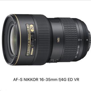 Nikon - ニコン AF-S NIKKOR 16-35mm f/4G ED VR