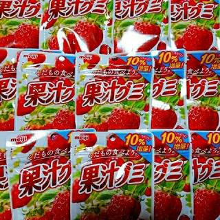 明治 - 果汁グミ 14袋