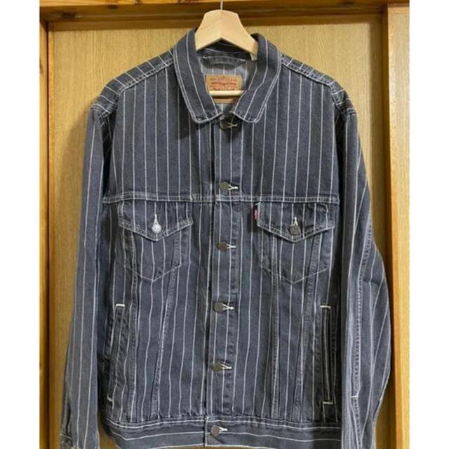 Supreme(シュプリーム)のSupreme Levi's Pinstripe Trucker Jacket メンズのジャケット/アウター(Gジャン/デニムジャケット)の商品写真
