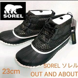 ソレル(SOREL)のSOREL ソレル OUT AND ABOUT防水 レインブーツ(レインブーツ/長靴)
