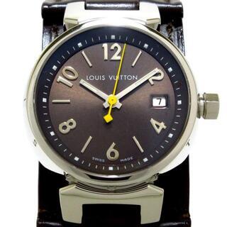 ルイヴィトン(LOUIS VUITTON)のヴィトン 腕時計美品  タンブール Q12111(腕時計)