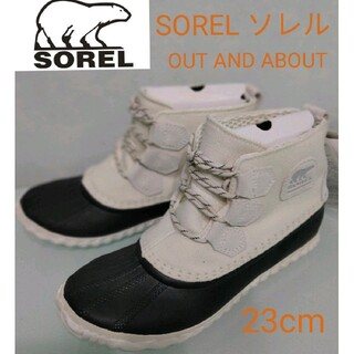ソレル(SOREL)のSOREL ソレル OUT AND ABOUT レインブーツ 長靴 防水シューズ(レインブーツ/長靴)