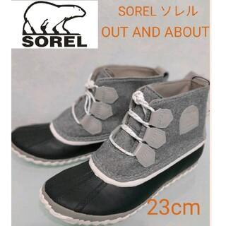 ソレル(SOREL)のSOREL ソレル[ソレル] OUT AND ABOUT防水/レインブーツ(レインブーツ/長靴)