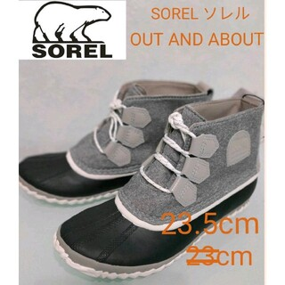 SOREL - SOREL ソレル[ソレル] OUT AND ABOUT防水/レインブーツ