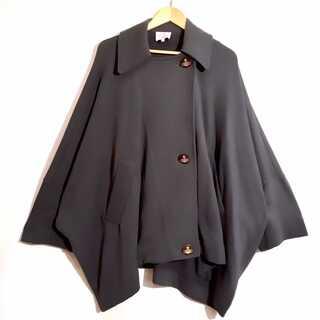 ヴィヴィアンウエストウッド(Vivienne Westwood)の美品 ヴィヴィアンウエストウッド 変形 ドルマン ポンチョ コート ジャケット (その他)