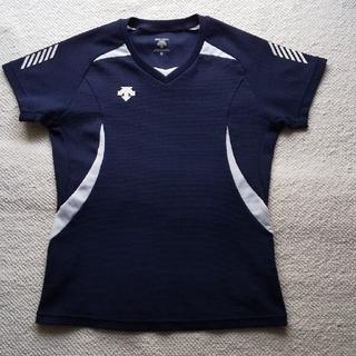 デサント(DESCENTE)のDESCENTE デサント サイズS 濃紺Tシャツ 速乾(Tシャツ(半袖/袖なし))