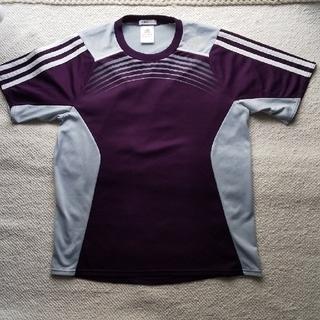 アディダス(adidas)のadidas アディダス メンズS 速乾 パープルTシャツ(Tシャツ(半袖/袖なし))