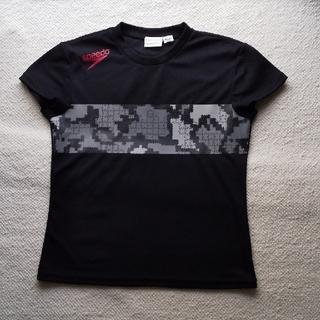 スピード(SPEEDO)のspeedo スピード サイズM  速乾Tシャツ ブラック(Tシャツ(半袖/袖なし))