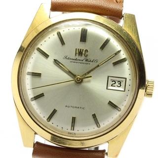 インターナショナルウォッチカンパニー(IWC)のIWC  K18YG Cal.8541  自動巻き メンズ 【中古】(腕時計(アナログ))