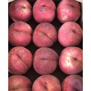 C.福島産 硬い桃 家庭用 4kg(フルーツ)
