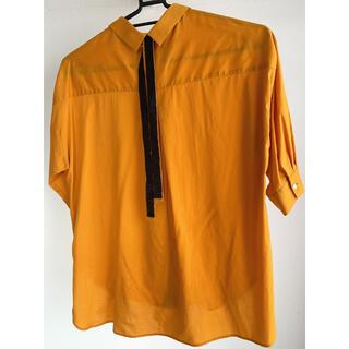 ロペ(ROPE)のバックリボンシャツ(シャツ/ブラウス(長袖/七分))