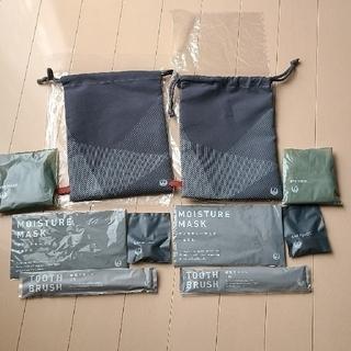 ジャル(ニホンコウクウ)(JAL(日本航空))の新品未使用品 JALトラベルセット 2点セット(旅行用品)